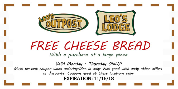 Free Cheese Bread Coupon